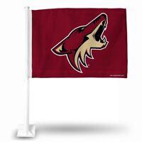 Arizona Coyotes NHL 11X14 Window Mount 2-Sided Car Flag