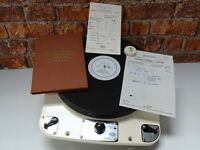 Garrard 301 Idler Drive Vintage Turntable Record Vinyl Player Deck + Accessories