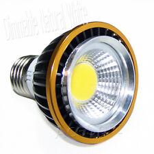 Ultra Bright PAR20 E27 15W Dimmable Natural LED COB Ceiling Spotlight Lamp Bulb