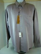 Arrow Men's Quality Dress Shirt - Brown Herringbone - 16-1/2 36/37 - NWT!