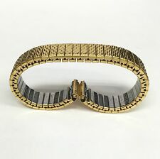 New SEIKO Gold Tone Stainless Steel Metal Expansion Watch Band S308V 9mm
