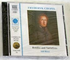 CHOPIN F. - RONDOS AND VARIATIONS - BIRET - CD Sigillato