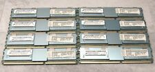 32GB KIT - 8 LOT of IBM 4GB 4Rx8 PC2-5300F DDR2 Server RAM Memory 46C7423