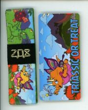 ZOX GOLD Strap TRIASSIC OR TREAT Wristband with Card Reversible