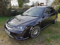 Ford Mondeo ST220 3.0 V6 PETROL - 2004 -12 MONTH MOT- 6 speed - NO RESERVE £1