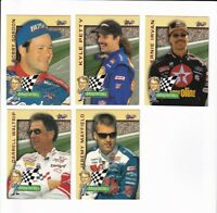 1997 Autographed Racing MAYNE ST. PICK LOT-YOU Pick any 2 of the 5 cards for $1