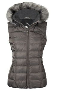 Le Mieux Grey Winter Gillet Large Brand New Never Worn New No Tags