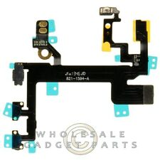 Flex Cable Power Volume for Apple iPhone 5S CDMA GSM PCB Ribbon Connector