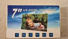 7 Inch LCD  Digital Photo Frame Brand new