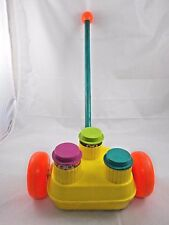 Fisher Price Pop Up Happy Whistlers Push Toy Vintage