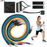 Kit 11 Fasce Bande Elastiche Elastici Fitness Palestra Di Resistenza Novità