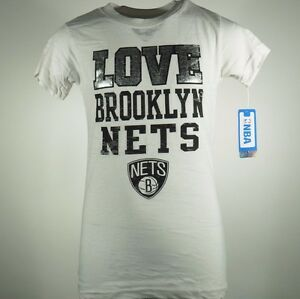 Brooklyn Nets official  NBA Youth Girls Size Sheer T shirt New With Tags