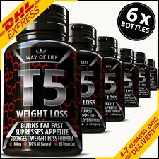 360 T5 Fat Burner Capsules 100 Strongest Legal Slimming Diet Pills Weight Loss