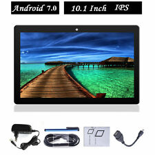 10.1 Zoll HD Google Android 7.0 Quad Core Phone Tablet PC WIFI+3G 16GB Phablet