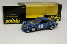 Solido FDS 1/43 - Porsche 911 934 Turbo Wrangler Silverstone 1978
