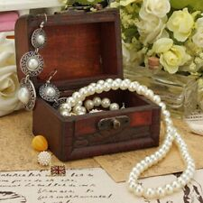 Small Design Wooden Pearl Bracelet Storage Vintage Case Jewelry Box Wooden Box