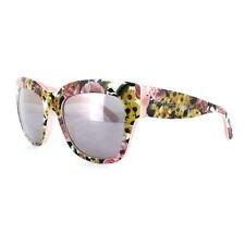 Occhiali da sole da donna con lenti in grigio Dolce&Gabbana a tecnologia lenti specchio