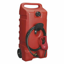 Scepter Flo N Go DuraMax 14 Gallon Portable Gas Fuel Tank Container with Pump