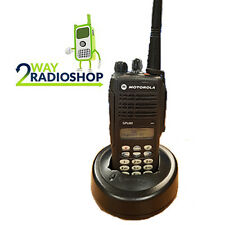 Motorola - GP680 VHF (Complete with antenna, battery, belt clip)