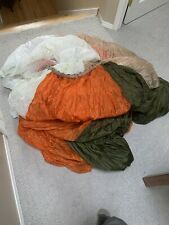 """C-9 Parachute Canopy, 28ft, All Lines Removed Used For School """"parachute� Game"""