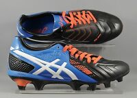 Asics (P405Y-9001) Lethal Stats 3 SK Adults Rugby Boots - Black/Blue