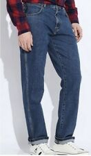 WRANGLER TEXAS STRETCH STRAIGHT LEG MID DENIM WATER RESISTANT RRP £75 FREE POST