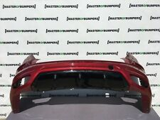 Ford Mondeo MK5 Titanio X raíces sólo 2015-2018 Parachoques Trasero Genuino Rojo [F155]