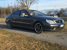 AMG Mercedes S65 • W220 • 612PS • Vollausst. • Anthrazit / Java • Carbon • DVD