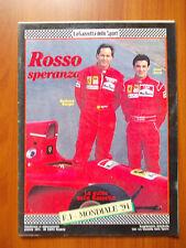 GAZZETTA DELLO SPORT  Rosso speranza F1 Mondiale 94 - Le guide Gazzetta