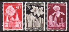1955 Belgium SC 482-484 MH Mint - Ghent International Flower Exhibition*