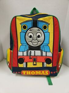 RARE Canvas Thomas the Tank Engine Train Backpack Childrens Book Bag Vintage