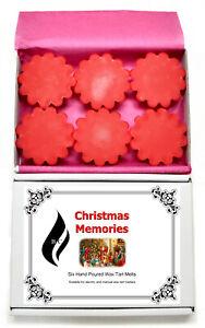 6 x Christmas Memories Scented Wax Tart Melts