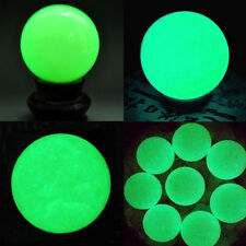 Charming Luminous Glow In The Dark Stone Sphere Ball &Base Home Decor Gifts Calm