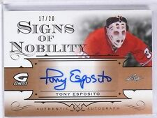 2016 Leaf Genesis Tony Esposito Signs Of Nobility Autograph #D17/20 #SNTE1 *5688