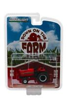 GREENLIGHT 48010E 1981 Tractor - Red and Black Diecast Model 1:64