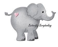 BABY ELEPHANT Small Die Craft Steel Die Cutting Die Cottage Cutz CC-004 New