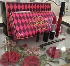 MAC Nutcracker Sweet Red Lip Kit Limited Edition **AUTHENTIC**