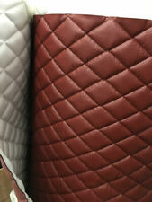 Vinyl Upholstery Tricotta diamond Quilted fabric with 3/8