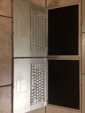 "Apple Macbook pro and Powerbook G4 15"" Laptop Lot of 2"