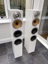 Boxed! B&W CM8 Bowers & Wilkins 150W Floor Speakers Audiophile Satin White