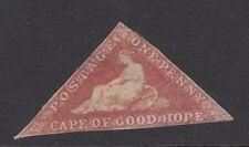 CAPE OF GOOD HOPE : 1855 1d rose SG 5a unused,no gum