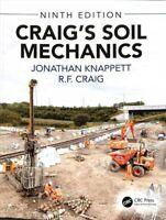 Craig's Soil Mechanics by Jonathan Knappett 9781138070066 | Brand New