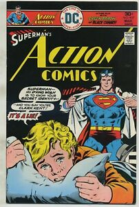 Action Comics 457 Infamous Cover High Grade