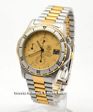 TAG Heuer Armbanduhren mit Drehlünette und 200 m Wasserbeständigkeit (20 ATM)