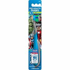 Oral B Toothbrush Stages Kids 5-7 Avenger