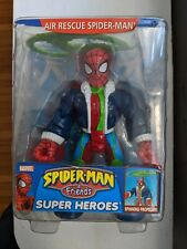 Spiderman and his amazing friends Air Rescue Spiderman Toybiz Action Figure