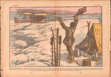 Aviator Ellsworth Antarctica Seaplane Hydravion Discovery 1936 ILLUSTRATION