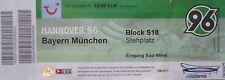 TICKET BL Hannover 96 - Bayern München