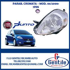 Fiat GRANDE PUNTO 2008 FARO H4 PB CROMO ELÉCTRICO 7 PERNO IZQUIERDA
