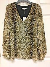 1293d4fdf4fca Calvin Klein Animal Print Plus Size Tops   Blouses for Women